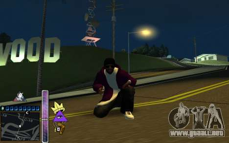 C-HUD Lite SWAG para GTA San Andreas segunda pantalla