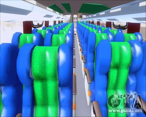 Busscar Vissta Buss LO Palmeiras para visión interna GTA San Andreas
