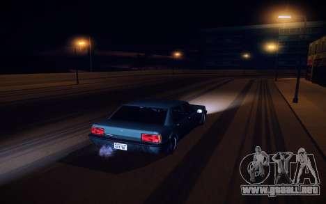Sunny 2 ENBSeries para GTA San Andreas segunda pantalla