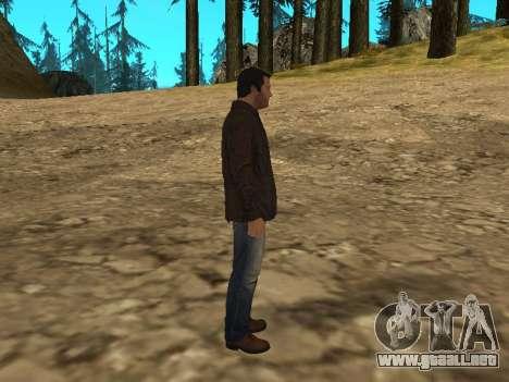 Michael de GTA 5 con un nuevo traje para GTA San Andreas sucesivamente de pantalla