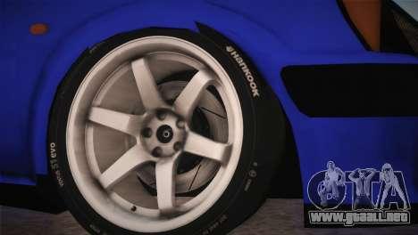Peugeot 106 GTI F Tuning para GTA San Andreas vista posterior izquierda