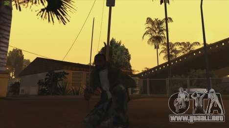 Katana from Killingfloor para GTA San Andreas segunda pantalla