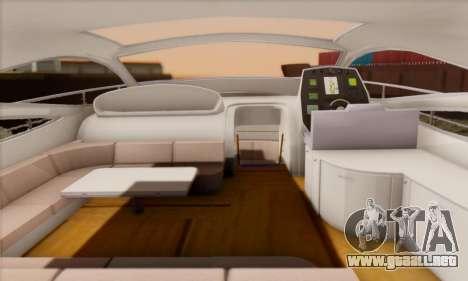 Speed Yacht para GTA San Andreas