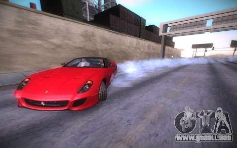 ENB infinity Beta Edition para GTA San Andreas séptima pantalla
