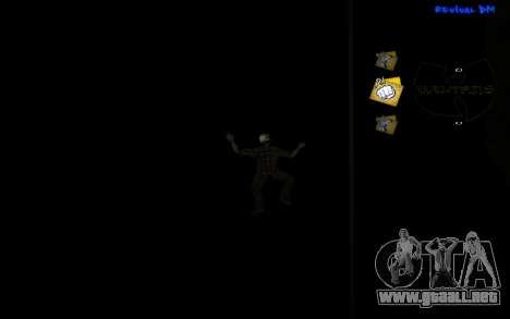 C-HUD Wu-Tang para GTA San Andreas tercera pantalla