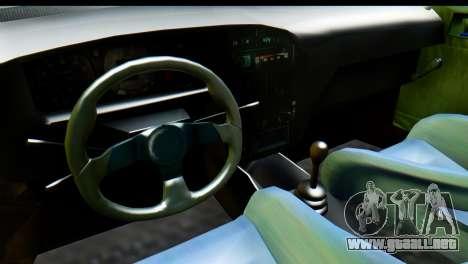Dacia 1300 B 89 WRC para la visión correcta GTA San Andreas