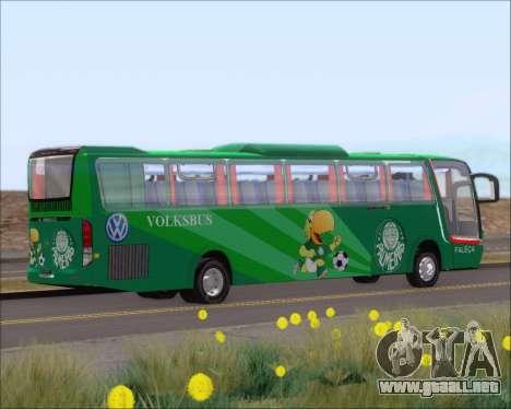 Busscar Vissta Buss LO Palmeiras para GTA San Andreas vista hacia atrás