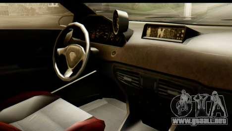 GTA 5 Benefactor Schwartzer IVF para GTA San Andreas vista hacia atrás