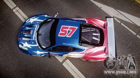 Ferrari 458 GT2 Stevenson Racing para GTA 4 visión correcta