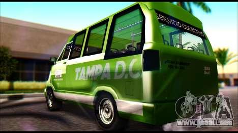 Toyota Microbus para GTA San Andreas left