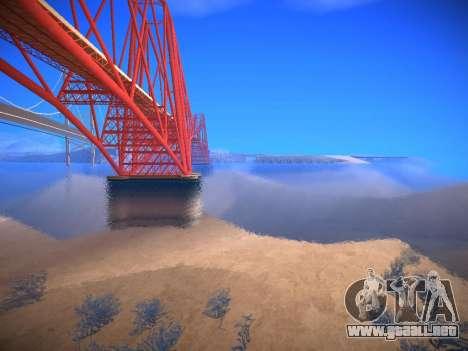 ENB infinity Beta Edition para GTA San Andreas segunda pantalla