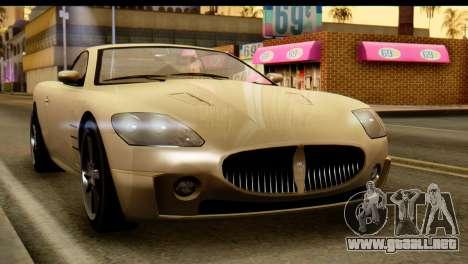 GTA 5 Ocelot F620 v2 para la visión correcta GTA San Andreas