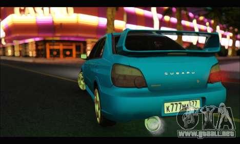 Subaru Impreza WRX STI Tuning para GTA San Andreas