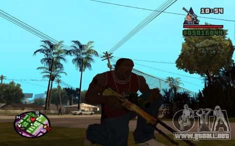 AWP Dragon Lore CS:GO para GTA San Andreas segunda pantalla