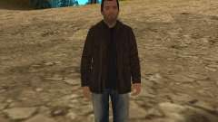 Michael de GTA 5 con un nuevo traje