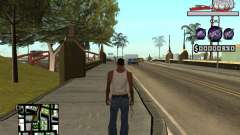 C-HUD by Sorel para GTA San Andreas
