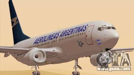Boeing 737-800 Aerolineas Argentinas para GTA San Andreas