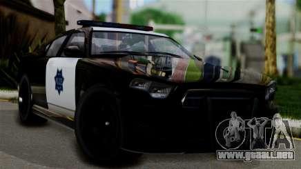 GTA 5 Buffalo S Taxi para GTA San Andreas