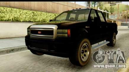 GTA 5 Insípida Sadler пикап para GTA San Andreas