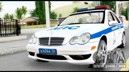 Mercedes-Benz C32 AMG ДПС para GTA San Andreas