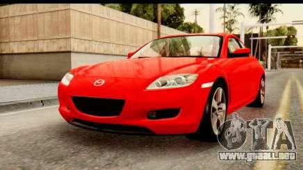 Mazda RX-8 2005 para GTA San Andreas