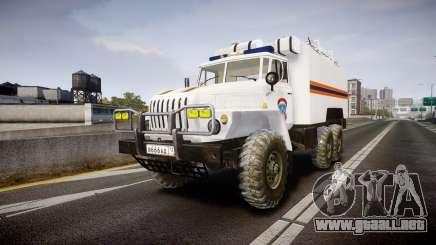 Ural 4320 MES para GTA 4