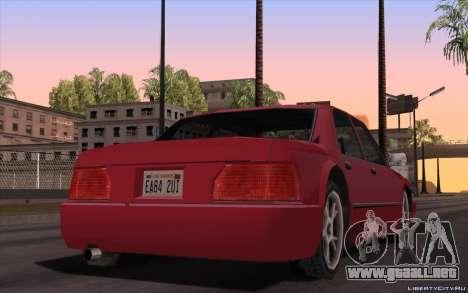 ENB for Tweak PC para GTA San Andreas tercera pantalla