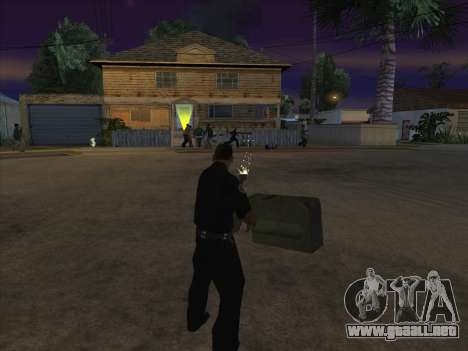 CABLE para GTA San Andreas octavo de pantalla