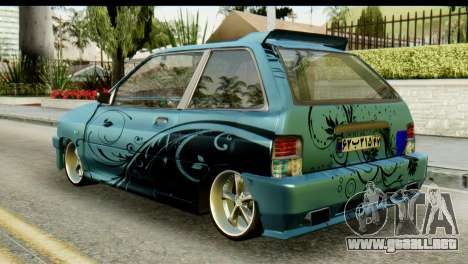 Ford Festiva Tuning para GTA San Andreas left
