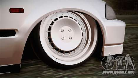 Honda Civic TnTuning para GTA San Andreas vista posterior izquierda
