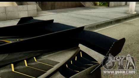 GTA 5 Pegassi Zentorno v2 SA Mobile para GTA San Andreas vista posterior izquierda