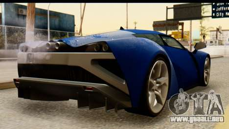 Marussia B2 para GTA San Andreas left