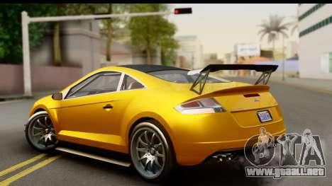 GTA 5 Maibatsu Penumbra para GTA San Andreas left