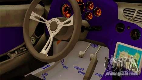 Mazda RX-7 Gangsta Club para GTA San Andreas vista hacia atrás