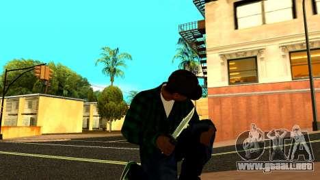 Weapon Pack para GTA San Andreas séptima pantalla