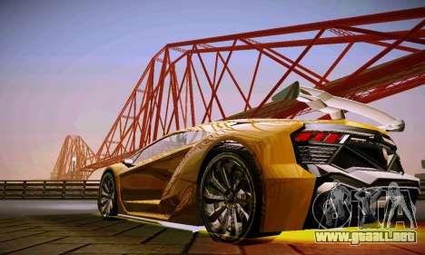 ANCG ENB para PC de bajos para GTA San Andreas quinta pantalla