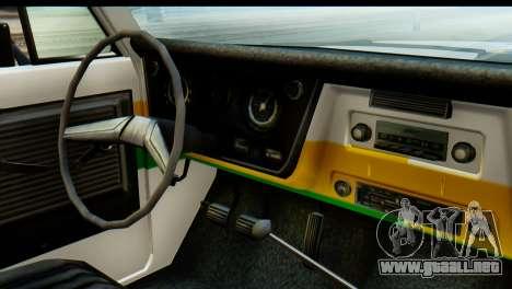 Chevrolet C10 Patrulla para GTA San Andreas vista hacia atrás