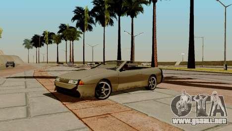 DLC garaje de GTA online de la marca nueva de tr para GTA San Andreas novena de pantalla