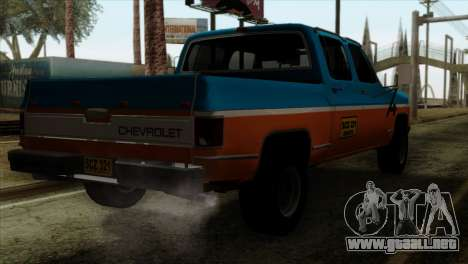 Chevrolet Custom Deluxe para GTA San Andreas left