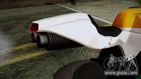 GTA 5 Bati Indian para GTA San Andreas vista hacia atrás