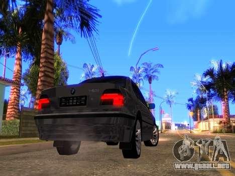 BMW 740i BL para la visión correcta GTA San Andreas