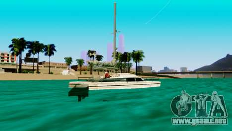 DLC garaje de GTA online de la marca nueva de tr para GTA San Andreas sexta pantalla