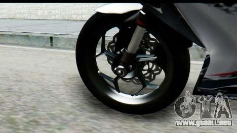 Kawasaki Ninja 250 Fi para la visión correcta GTA San Andreas
