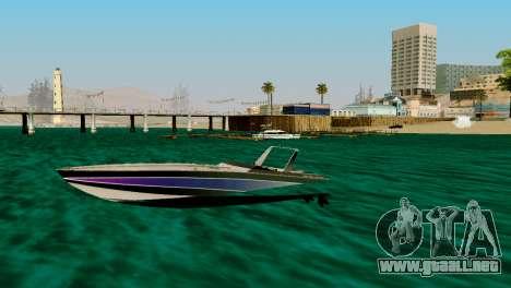 DLC garaje de GTA online de la marca nueva de tr para GTA San Andreas séptima pantalla