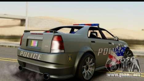 EFLC TBoGT Albany Police Stinger SA Mobile para GTA San Andreas left