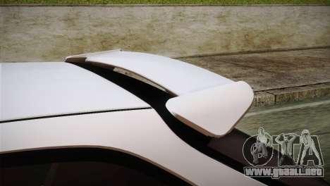 Honda Civic TnTuning para GTA San Andreas vista hacia atrás
