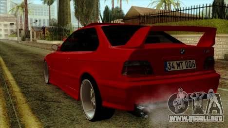 BMW M3 E36 para GTA San Andreas left