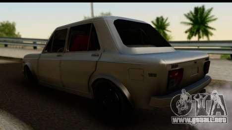 Fiat 128 para GTA San Andreas left
