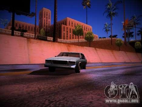 ENB 2.0.4 by Nexus para GTA San Andreas segunda pantalla