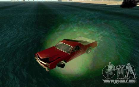 Cars Water para GTA San Andreas
